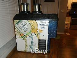 Tequila Patron Shot Chiller Dispenserbartavernman Cave2 Bottle Dispenser