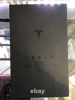 Tesla Tequila Bottle And Stand (EMPTY) ON HAND READY TO SHIP