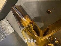 Tesla Tequila Bottle SMALL CRACK & EMPTY NO RESERVE