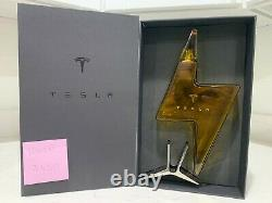 Tesla Tequila Decanter (Empty) withStand and Box Limited Edition