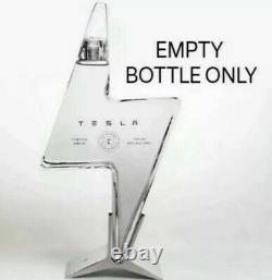 Tesla Tequila EMPTY BOTTLE Brand New PREORDER