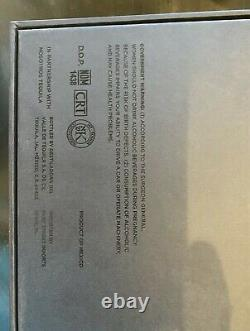 Tesla Tequila Limited Edition Lightning Bottle, Lid, Box & Stand