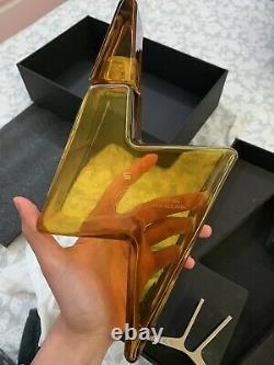 Tesla Tequila(empty Bottle), Stand, & Box(slightly Damaged)