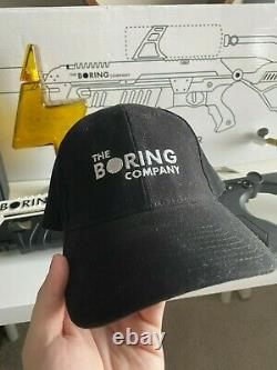 The Boring Company Not A Flamethrower +Tesla Tequila ELON MUSK COLLECTIBLES