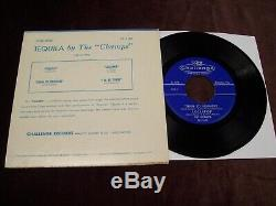 The Champs Tequila 7 45 Ep 1st Press Challenge 1958 USA Rock N Roll Etc