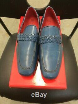 Used Jeffery West Mens Loafer Slip Om Shies Tequila Size 8