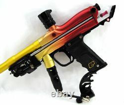 Used WGP Orracle Autococker AC Electronic Paintball Marker Tequila Sunrise Gun