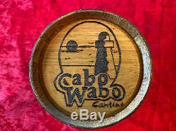 Van Halen/sammy Hagar Cabo Wabo Tequila Aging Barrel