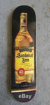 Very Rare Vintage Tommy Sandoval Tequila NOS Zero skateboard Jamie Thomas Cheers