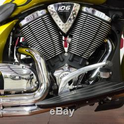 Victory Cross Country Factory Custom Paint Tequila Gold W