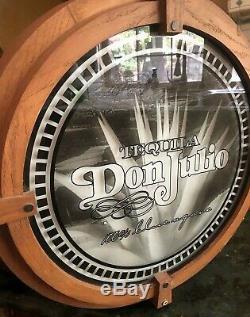 Vintage Advertising Light Sign Don Juan Agave Tequila WORKS
