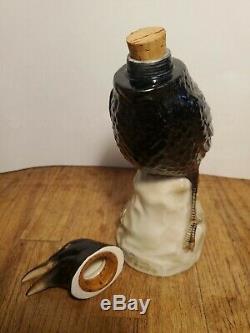 Vintage Jose Cuervo Tequila Crow Raven Decanter Rare
