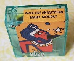Vintage Pocket Rocker Player & 14 Cassettes. Tequila, La Bamba, 2 travel cases