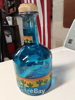 Vintage Sammy Hagar Original Cabo Wabo Tequila Bottle Rare Empty