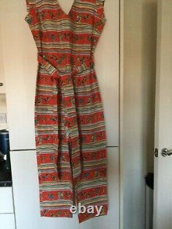 Vintage style Jumpsuit Doghouse Vintage Tequila Sheila stretch fabric 22