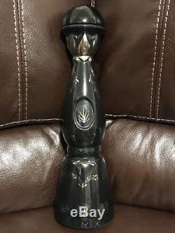 WOW! RARE Clase Azul Ultra Tequila Bottle (empty) With 925 SILVER Cactus Logo