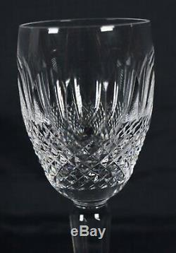 Waterford Crystal Colleen Tall Stem Sherry Glass Set Of 4 Signed Tequila Glass