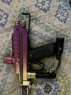 Wgp Tequila sunrise sto autococker paintball gun / marker Cp, dye, Pe Cocker Rare