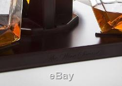 Whiskey Decanter Set For Liquor Scotch Rum Bourbon Vodka Tequila Diamond Gift